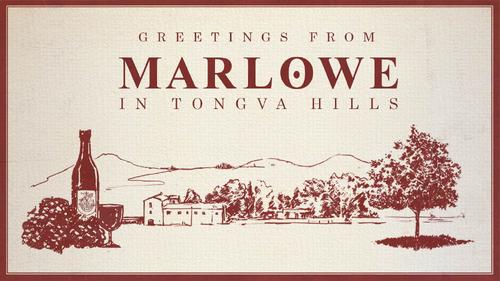 Tongva-Hills-Ansichtskarte