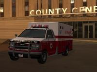 Krankenwagen aus IV in SA