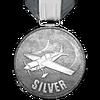 Flugschule V Silber