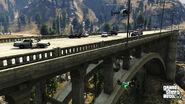 Gta v franklin bridge jumping