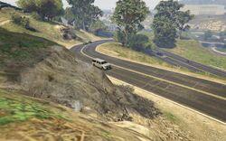 GTA5 Zancudo Road 02
