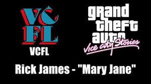 "GTA Vice City Stories - VCFL Rick James - ""Mary Jane"""