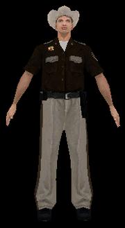 Badlands-Cop, SA