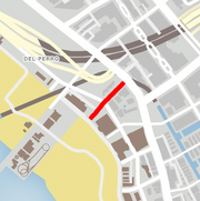 GTA V Sandcastle Way Map marked