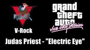 """GTA Vice City Stories - V-Rock Judas Priest - """"Electric Eye"""""""