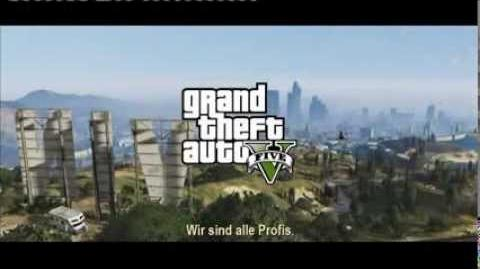 Official Grand Theft Auto V TV-Trailer (Deutsch German)