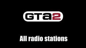 GTA 2 (GTA II) - All radio stations