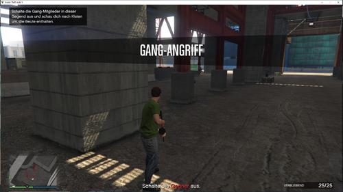 GTA V Gangangriff Start