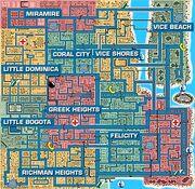 GTA1 ViceCity Karte