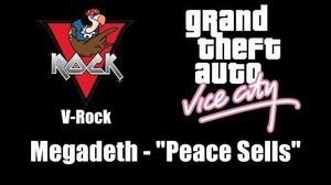 "GTA Vice City - V-Rock Megadeth - ""Peace Sells"""