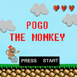 Pogo-the-Monkey-Bildschirm, VC