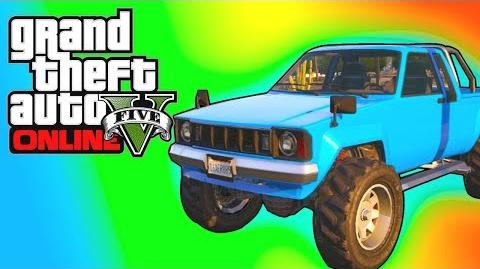 GTA 5 Online Rare Cars - CLEAN Karin Rebel Location! Store In Your Garage (GTA V)