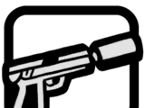 9 mm mit Schalldämpfer