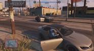 GTA Online Überfall Polizei