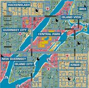 GTA1 LibertyCity Karte