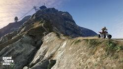 Mount Chiliad Spitze