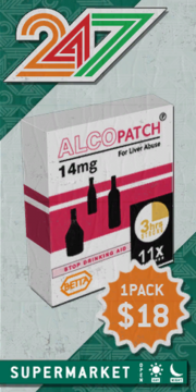 Alco-Patch-Verpackung