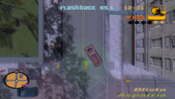 GTA III Top-Down-Ansicht