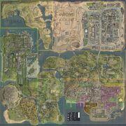 Gta 5 Karte Polizeistation.San Andreas Gta Wiki Fandom Powered By Wikia