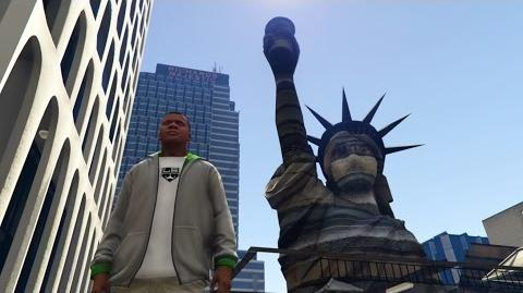 GTA 5 PC Mods Statue Of Happiness Converted to GTA 5 First Model Edit