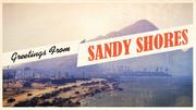 Sandy-Shores-Ansichtskarte