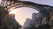 Raton Canyon Bridge GTA V Pic
