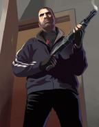 Angry pumpgun niko artwork