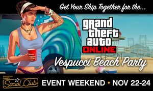 Grand Theft Auto Online Event Vespucci Beach Party