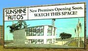 Sunshine Autos-Schild, Little Havana, VCS