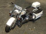 Polizei-Motorrad (V)