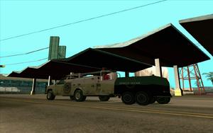 Utility Van mit Anhänger