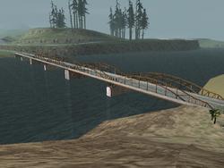Frederick Bridge, San Andreas, SA