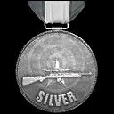 Schießstand V Silber
