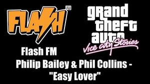 "GTA Vice City Stories - Flash FM Philip Bailey & Phil Collins - ""Easy Lover"""