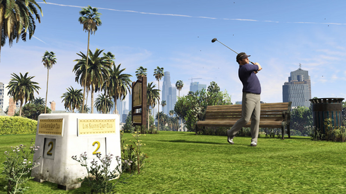 GTA-V-Handbuch Los Santos Country Club
