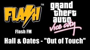 """GTA Vice City - Flash FM Hall & Oates - """"Out of Touch"""""""