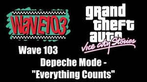 "GTA Vice City Stories - Wave 103 Depeche Mode - ""Everything Counts"""