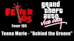 "GTA Vice City - Fever 105 Teena Marie - ""Behind the Groove"""