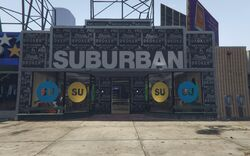 GTA5 Suburban Vinewood