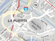 La Puerta, Los Santos