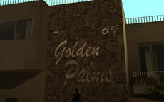 The Golden Palms