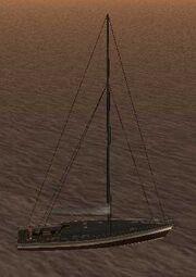 Marquis (SA) auf dem Meer