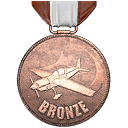 Flugschule V Bronze