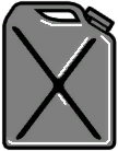 Benzinkanister-HUD-Symbol
