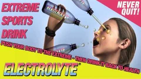 Electrolyte Radiowerbung aus GTA IV