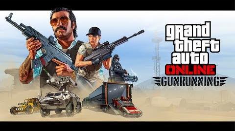 Trailer zu GTA Online Gunrunning