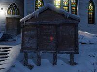 Ludendorff Kirche Messeschild