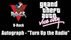 "GTA Vice City - V-Rock Autograph - ""Turn Up the Radio"""