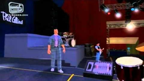 """In The Air Tonight"" - Phil Collins Concert in GTA Vice City Stories"