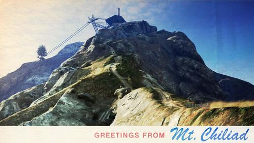 Mount-Chiliad-Ansichtskarte